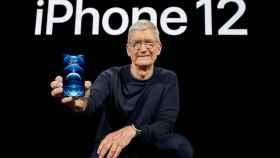Tim Cook, CEO de Apple, en una imagen de archivo.