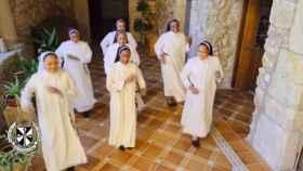 Captura del vídeo de las monjas de Trujillo que se ha hecho viral.