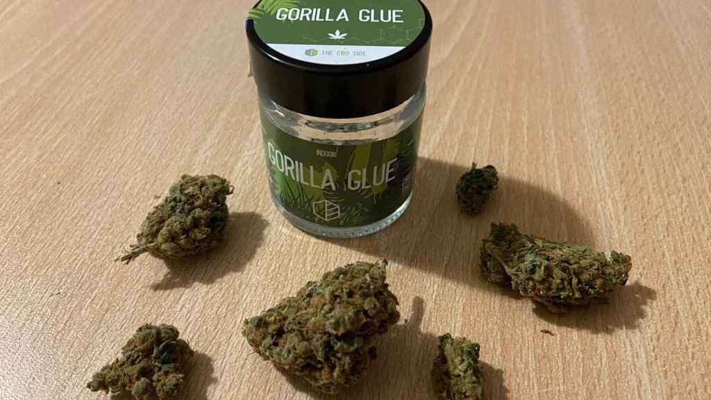 Marihuana de la variedad Gorilla Glue