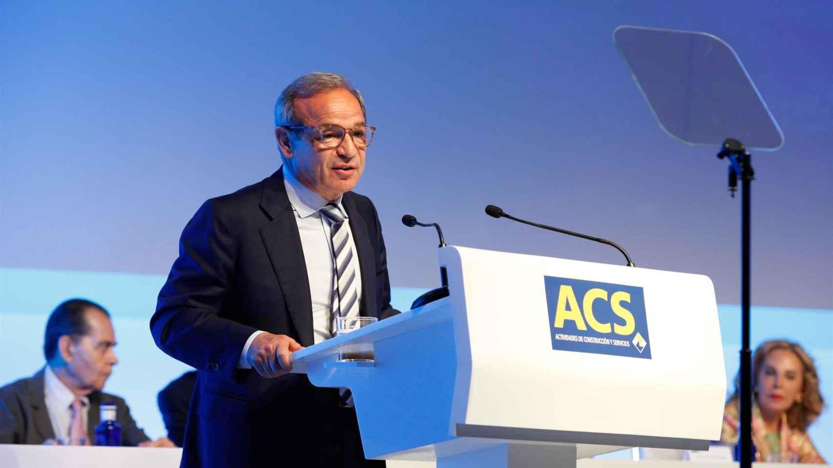 El consejero delegado de ACS, Marcelino Fernández Verdes.