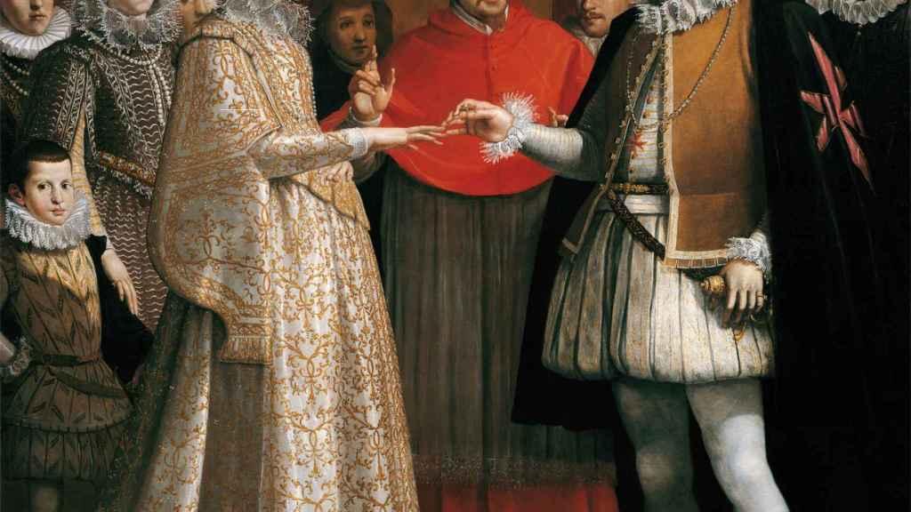 Nupcias de María de Médici con Enrique IV de Francia (1600).