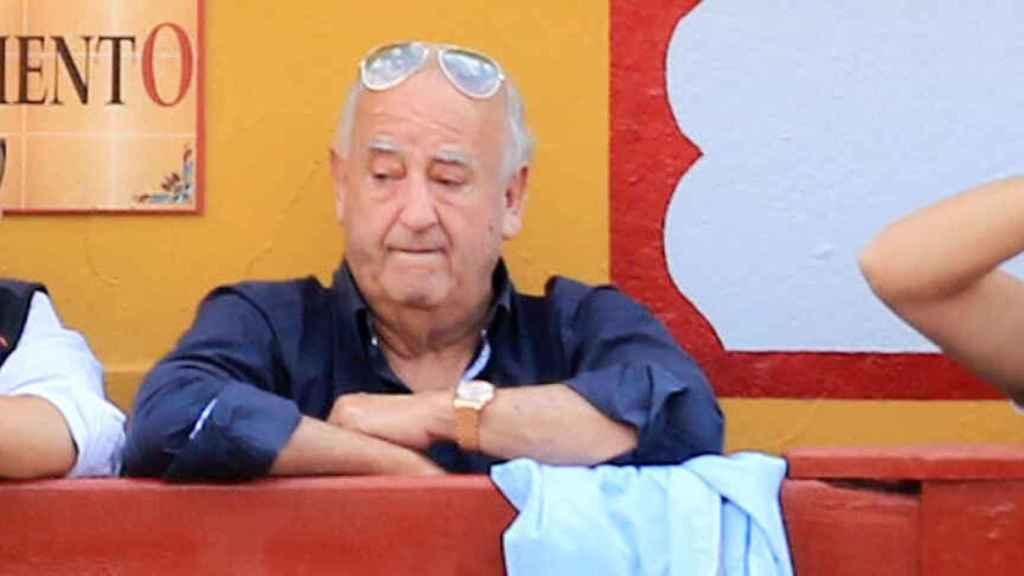 Humberto Janeiro en un festival taurino en el año 2018.