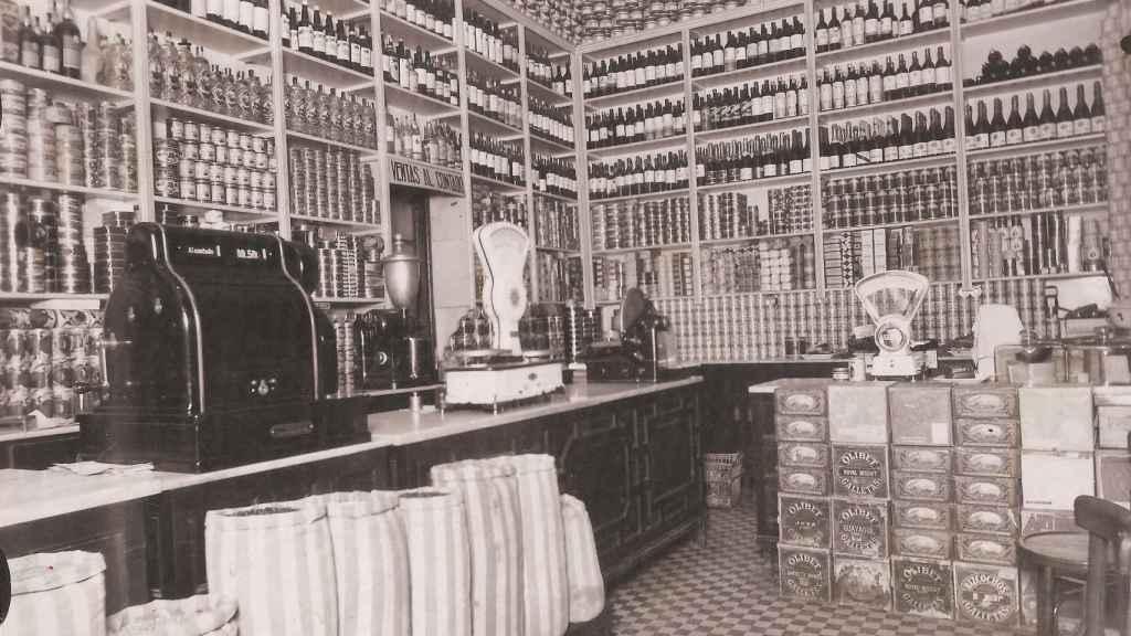 Imagen antigua de la tienda.