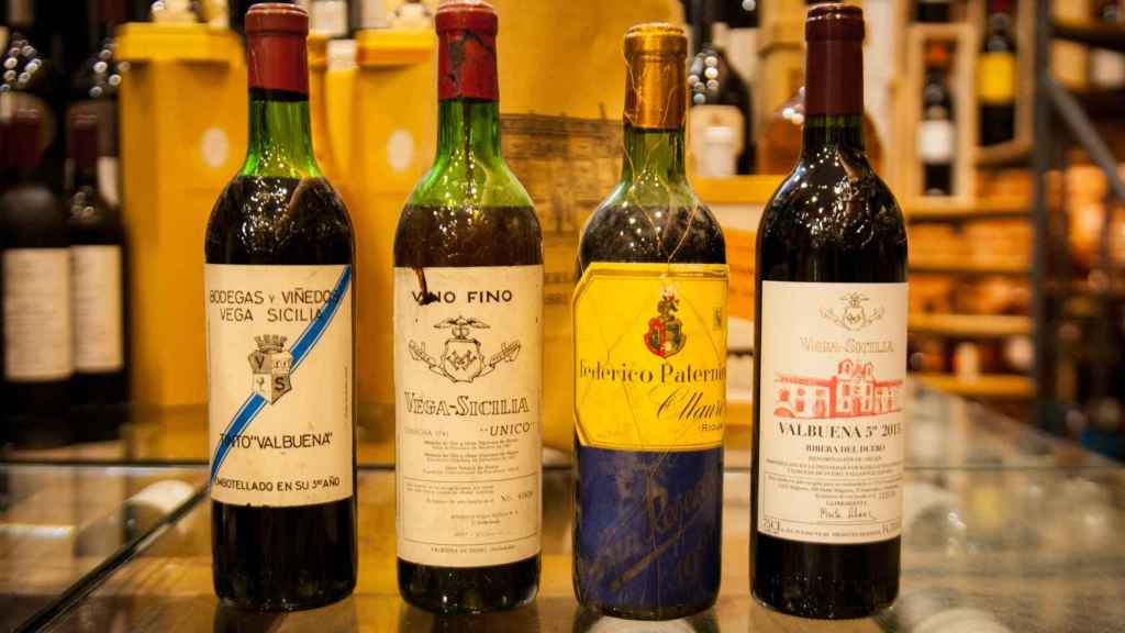Algunos de los mejores vinos que vende Bravo.