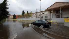 Inundaciones en Denia tras la tormenta. EFE/ Natxo Francés