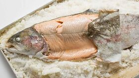 El pescado es un alimento rico en yodo.