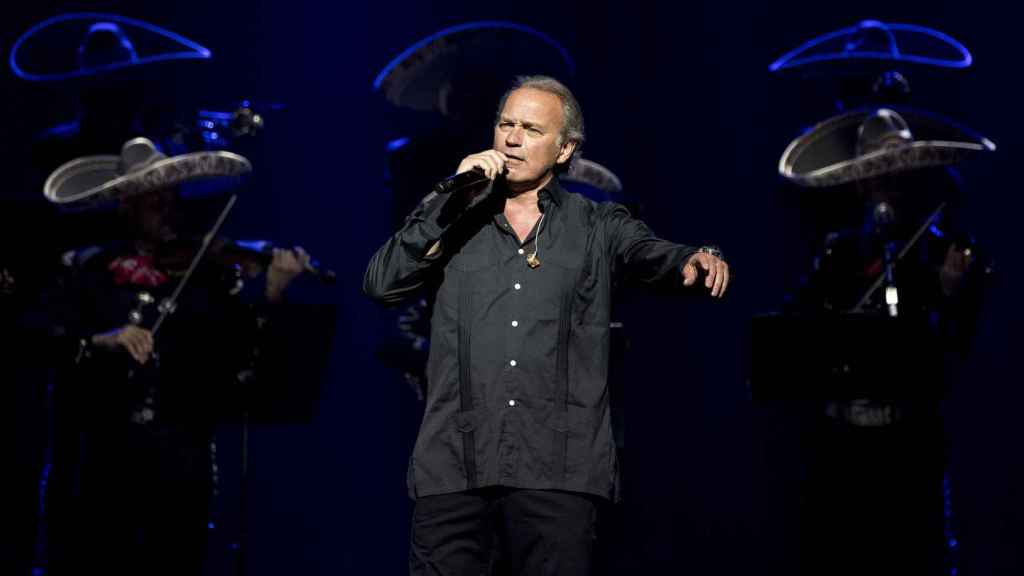 Bertín Osborne comenzó su carrera como cantante hace cuatro décadas.
