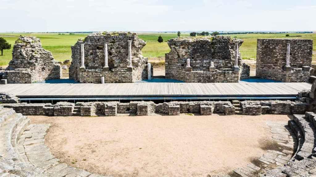 El teatro romano de Regina.