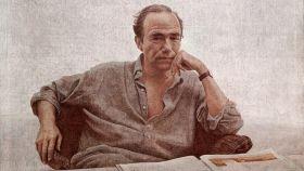 Gregorio Marañón retratado por Hernán Cortés.