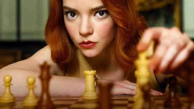'Gambito de Dama',  una de las últimas series lanzadas por Netflix.