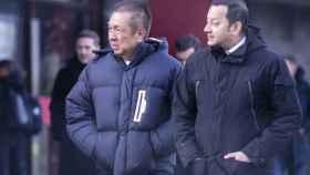 Peter Lim y Anil Murthy