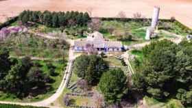 Foto aérea del paraje de Las Perdigueras