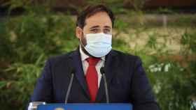El presidente del PP de Castilla-La Mancha, Paco Núñez, en una imagen de este viernes