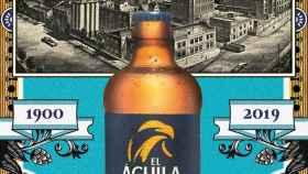 Imagen de archivo sobre cerveza El Águila.