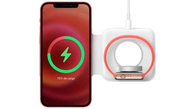 El nuevo cargador doble MagSafe puede cargar el iPhone y el Apple Watch
