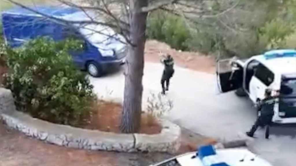 Captura el vídeo de un vecino que se ha hecho viral.