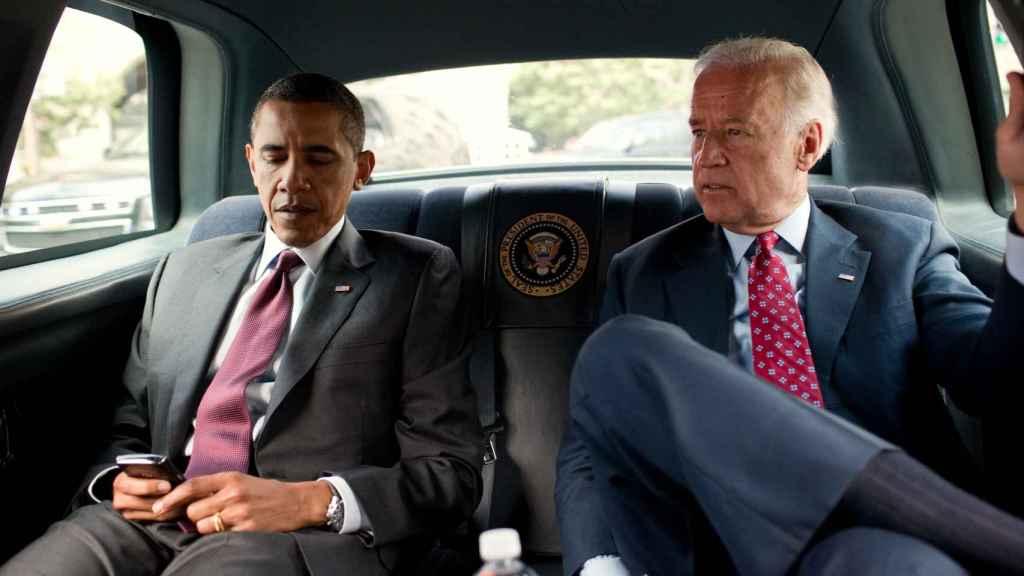 Barack Obama y Joe Biden, cuando eran presidente y vicepresidente de EEUU.