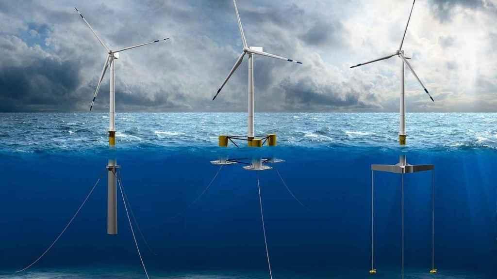 Sistemas de eólica marina flotante