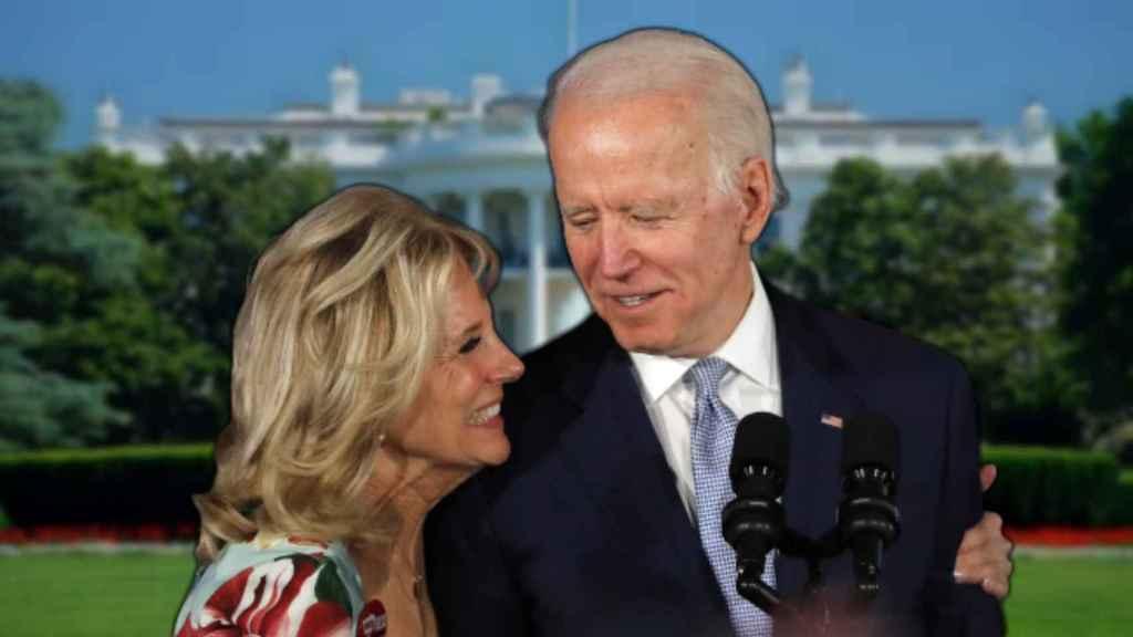 Joe y Jill Biden en montaje de JALEOS.