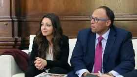 Natalia Castrillo y José Ruiz, responsables de Relaciones Instituciones provincial y regional de Mercadona en CLM
