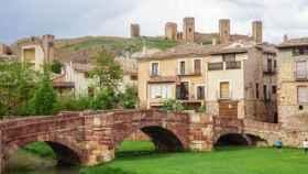 Preciosa imagen de Molina de Aragón (Guadalajara)