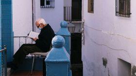 Un vecino de Almáchar, Málaga.