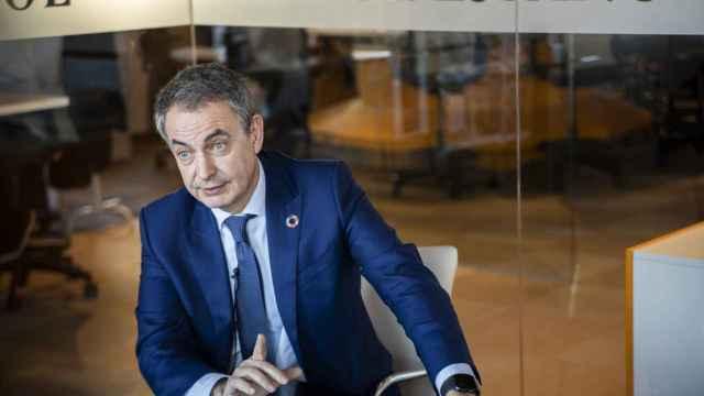 El expresidente José Luis Rodríguez Zapatero en una reciente entrevista en la sede de EL ESPAÑOL.