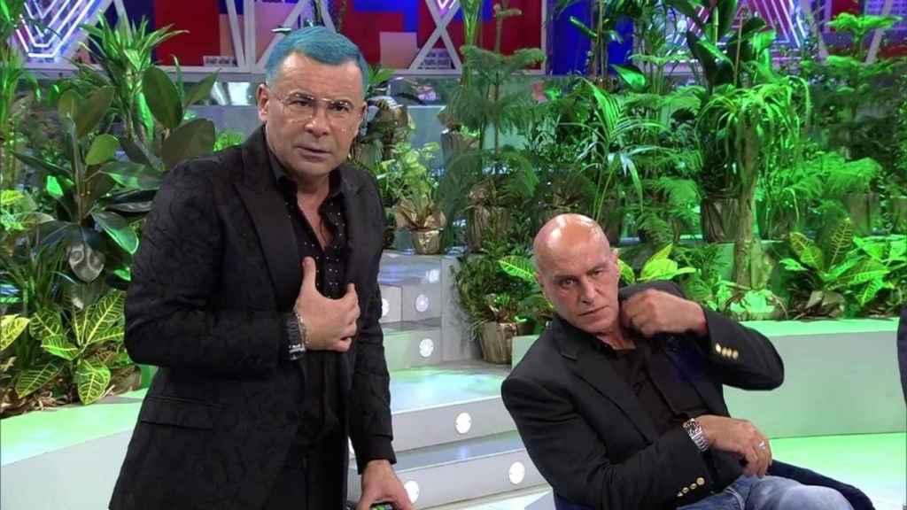 Jorge Javier Vázquez y Kiko Matamoros