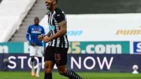 Callum Wilson celebra un gol con el Newcastle