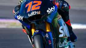 Matteo Bezzecchi, en el Gran Premio de Europa de Moto2