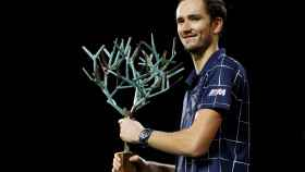 Medvedev,  campeón del Master 1000 de París-Bercy