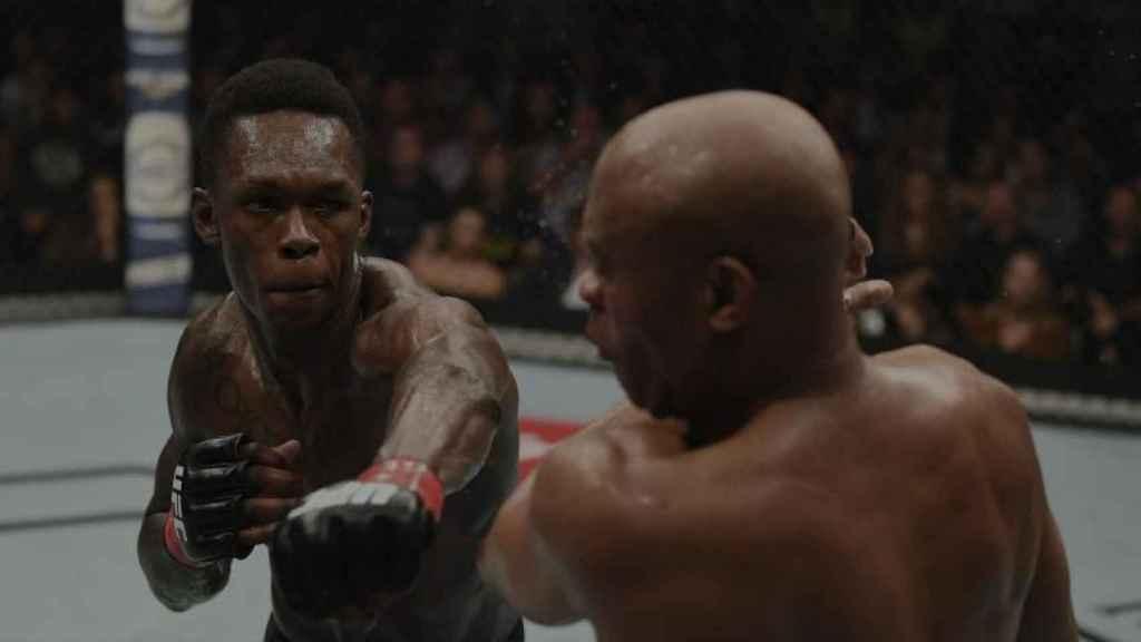 Israel Adesanya, en la UFC 234