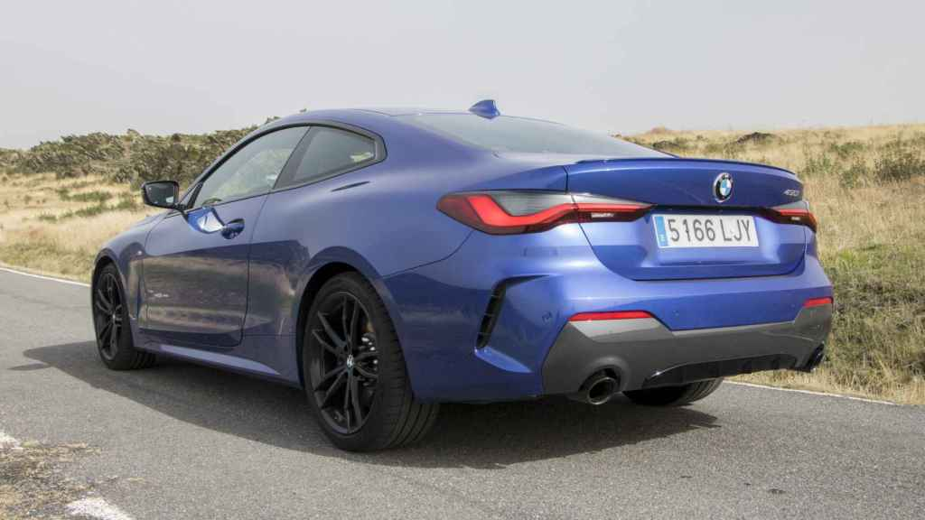 Tiene como rivales el Audi A5 Coupé y el Mercedes Clase C Coupé.