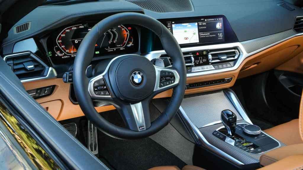 El interior destaca por su calidad.