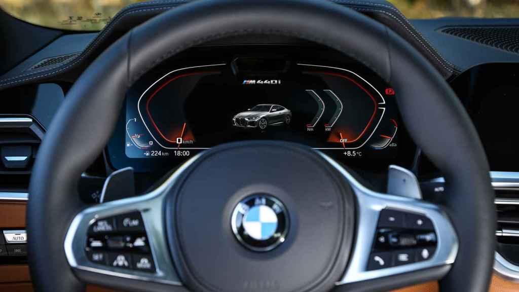 Cuadro de instrumentos del nuevo BMW Serie 4.