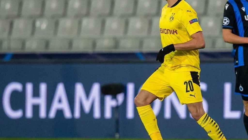 Reinier Jesús, en un partido con el Borussia Dortmund. Foto: Instagram (reinier.jesus)