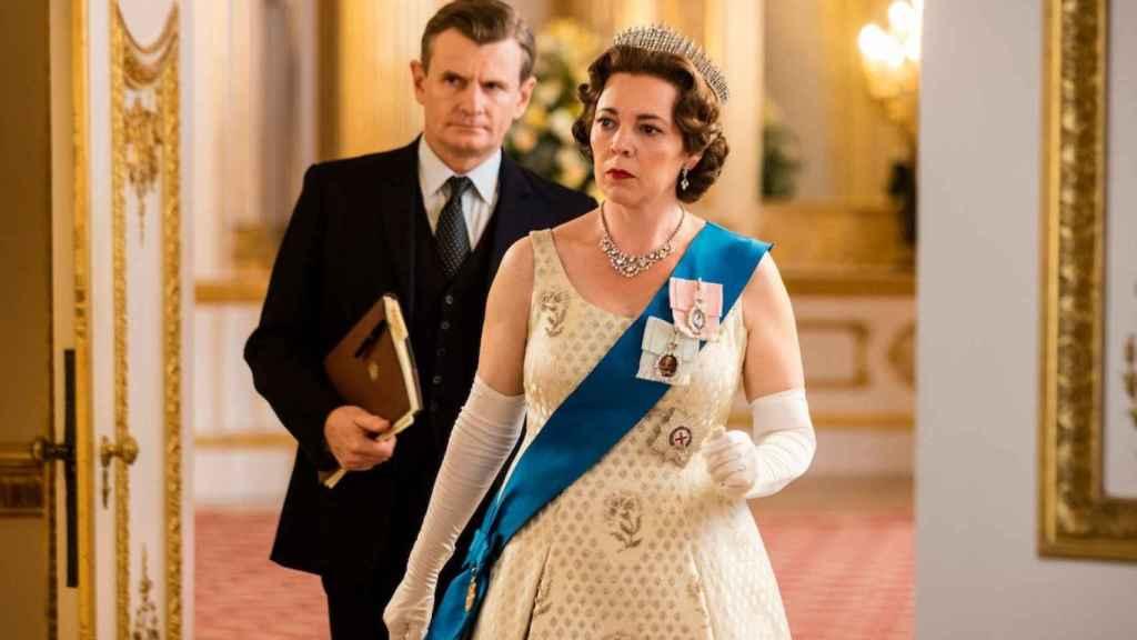 Olivia Colman en The Crown.