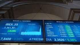 Imagen de la Bolsa de Madrid, en una imagen de archivo.