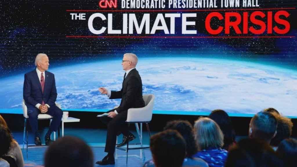Jose Biden a favor de la lucha climática