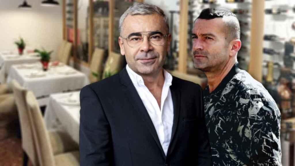 Jorge Javier Vázquez y Paco disfrutaron de un delicioso almuerzo en el restaurante Don Giovanni.