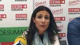 María José Mesas, secretaria general de CCOO en Cuenca