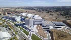 Impresionante vista aérea del nuevo Hospital Universitario de Toledo