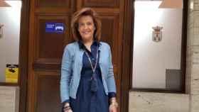 Rosario Velasco, portavoz del VOX en el ayuntamiento de Albacete