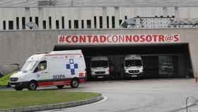 Vista este lunes de la zona de Urgencias del Hospital Universitario Central de Asturias.