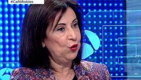 Margarita Robles, ministra de Defensa, entrevistada en Antena 3.