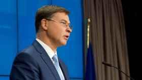 El vicepresidente de la Comisión y responsable de Comercio, Valdis Dombrovksis