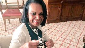Condoleezza Rice, secretaria de Estado de Estados Unidos entre 2005 y 2009.