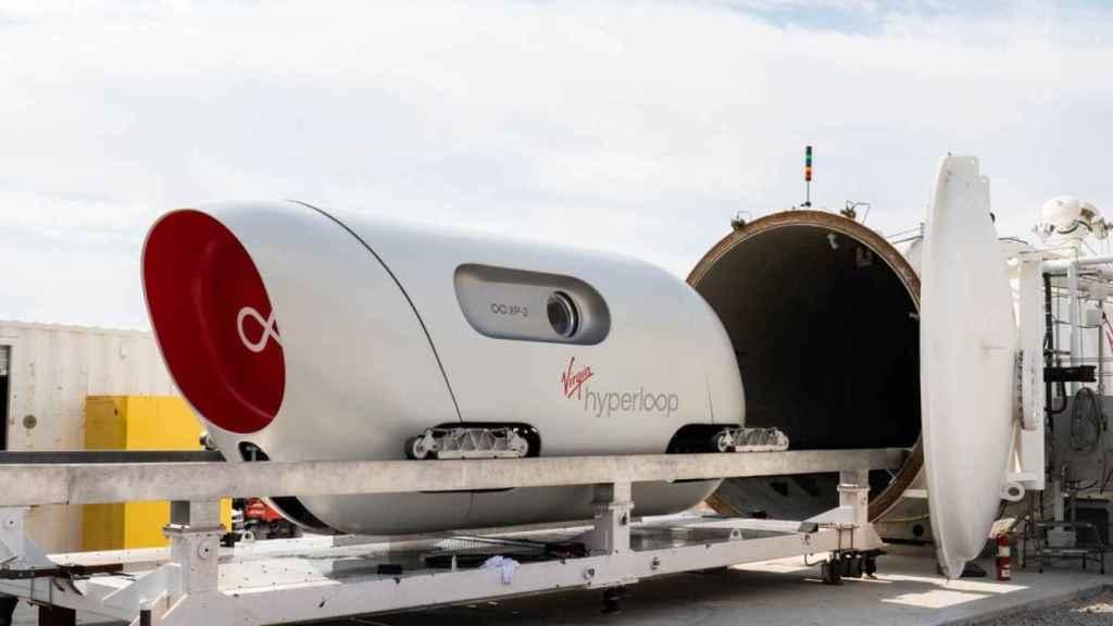 Virgin Hyperloop.