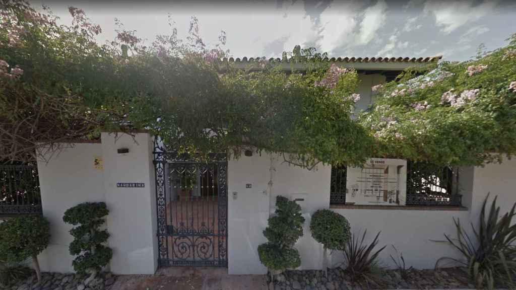 Puerta de La Mandarina, la casa de Halley