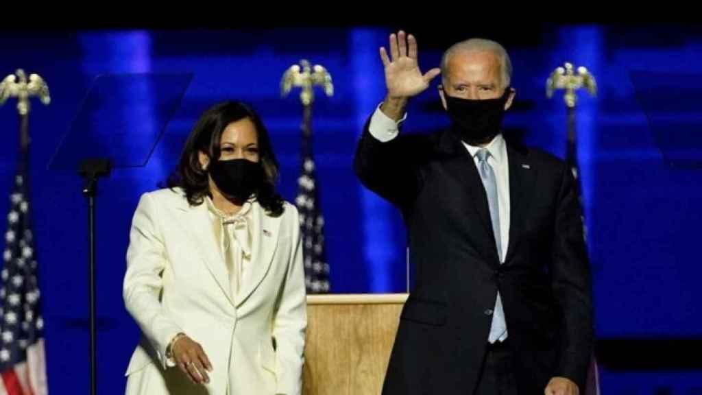 Joe Biden y Kamala Harris. Efe